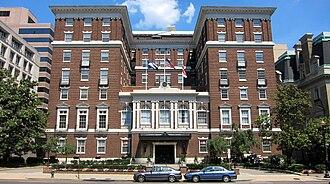 Aymar Embury II - The University Club of Washington, DC (1920)