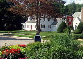 University Heights IA Melrose triangle.jpg