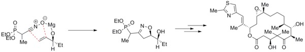 Use of directed cycloaddition in Epothilones synthesis.tif