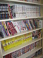 Used manga at B Street Books, San Mateo.JPG