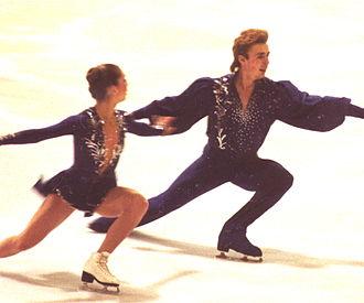 Alexander Zhulin - Usova/Zhulin in 1989