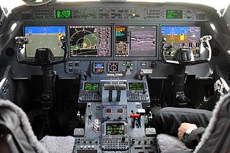 Honeywell Primus - Gulfstream G500 PlaneView cockpit