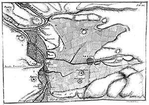 Valdichiana - Val di Chiana 1789 map