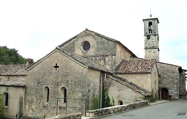 Monument historique à Valbonne