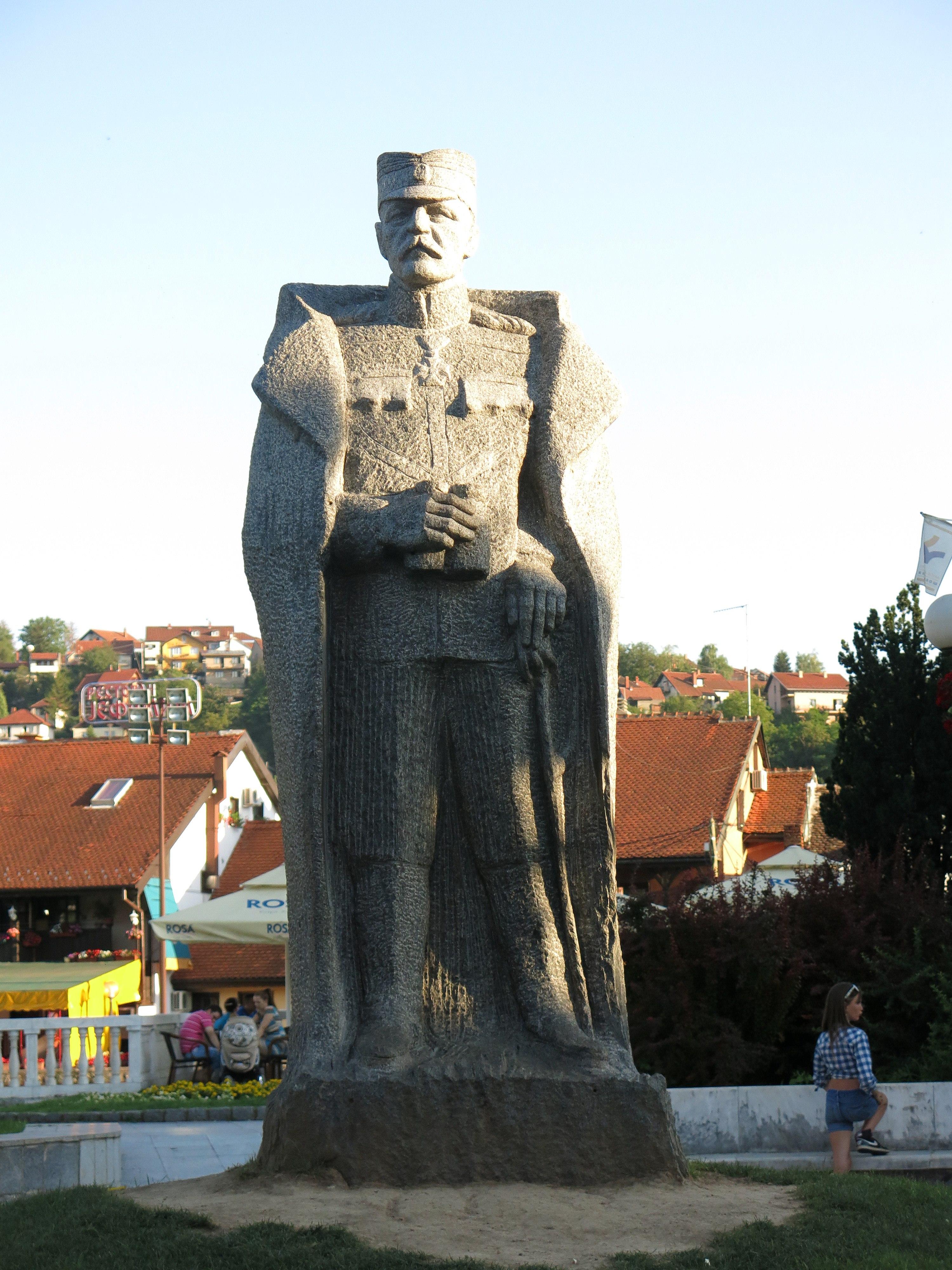 File Valjevo Spomenik Zivojinu Misicu 01 Jpg Wikimedia Commons