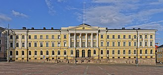 Prime Minister's Office (Finland) - The Prime Minister's Office is located within the Government Palace in Helsinki.