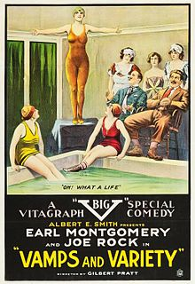 Earl Montgomery US silent film director and actor