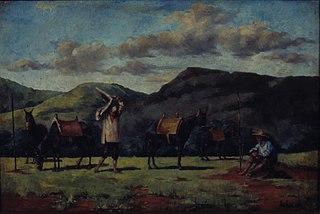 Tropeiros à Beira da Estrada, 1830