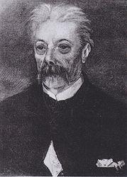 Vincent van Gogh: Portrait of a man with a mustache