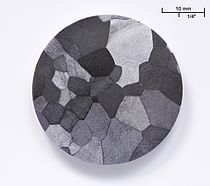Image: Vanadium etched