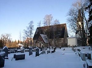 Vanaja (Finland) - The medieval church of Vanaja