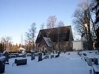 Kuinka päästä määränpäähän Vanajan Kirkko käyttäen julkista liikennettä - Lisätietoa paikasta