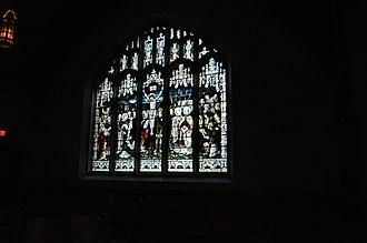 Christ Church Cathedral (Vancouver) - Image: Vancouver Christ Church Cathedral stained glass 03