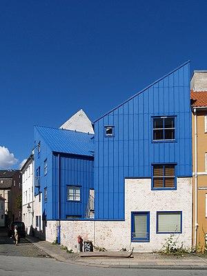 Christianshavn - Image: Vandkunsten det blå hjørne 2007