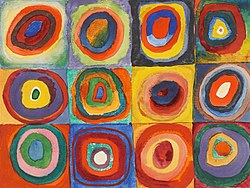 Wassily Kandinski: Color Study, Squares with Concentric Circles