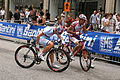 Vattenfall Cyclassics 2011 Fahrer des Team Katjuscha 3.JPG