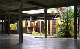 Victor Vasarely - Tribute to Malevitch (1954), Ciudad Universitaria de Caracas