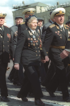 2000 Moscow Victory Day Parade - Image: Victory Day Parade 9 May 2000 1