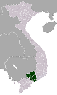 Southeast (Vietnam) region of Vietnam