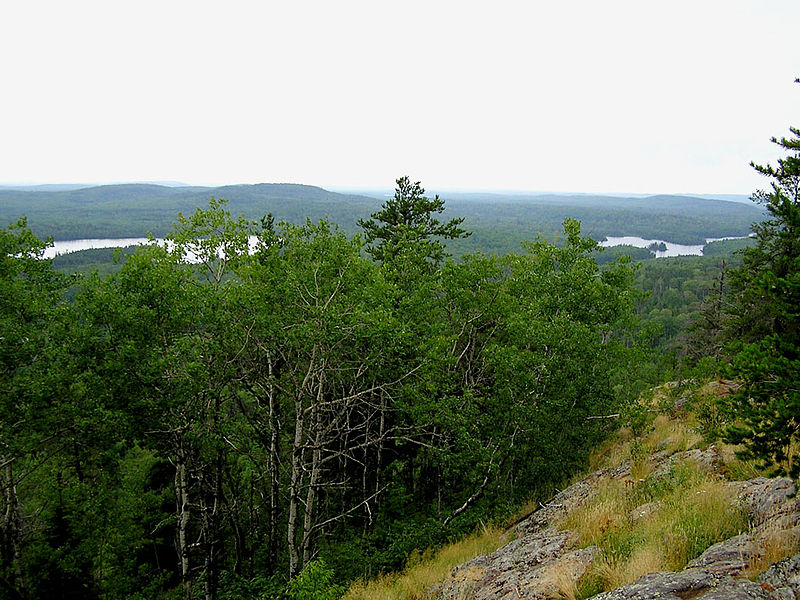 File:View from Eagle Mountain Minnesota.jpg