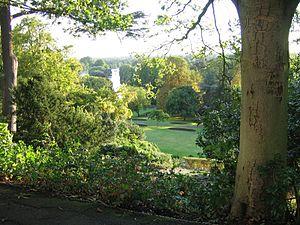 View from Richmond Hill, Richmond, London, UK ...