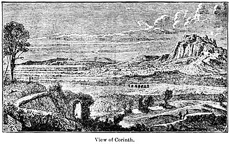 Ancient Corinth - View of Ancient Corinth