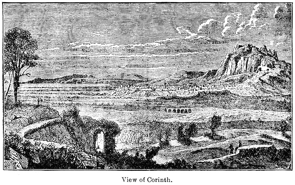 View of Corinth