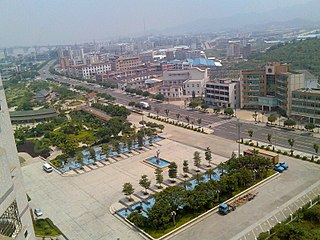 Gaoming District District in Guangdong, Peoples Republic of China