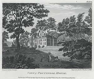 John Hanbury (1744–1784) - Pontypool House, 1793