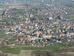 View of Tokod from Hegyes-kő 2.jpg