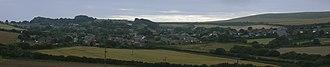 Niton - Panorama over Niton.