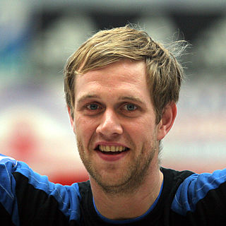 Vignir Svavarsson Icelandic handball player