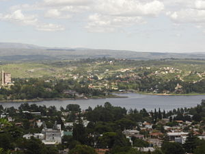 Villa Carlos Paz - View of the city from Cerro de la Cruz