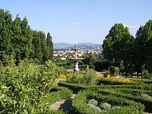 villa la petraia - wikiwand - Piccolo Giardino Allitaliana