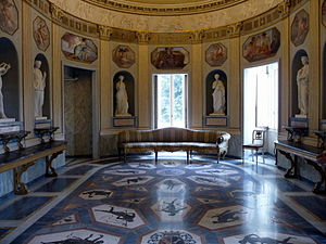 English: Villa Torlonia (Rome), interior