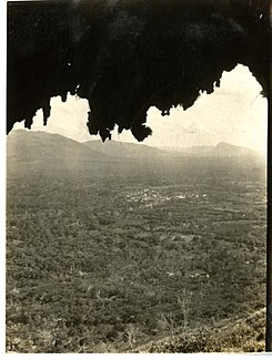 Village of San Rafael, taken from inside of cave (Haiti) (15652842065).jpg