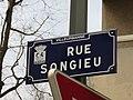 Villeurbanne - Rue Songieu - Plaque (mars 2019).jpg