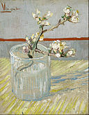 Vincent van Gogh - Sprig of flowering almond in a glass - Google Art Project.jpg