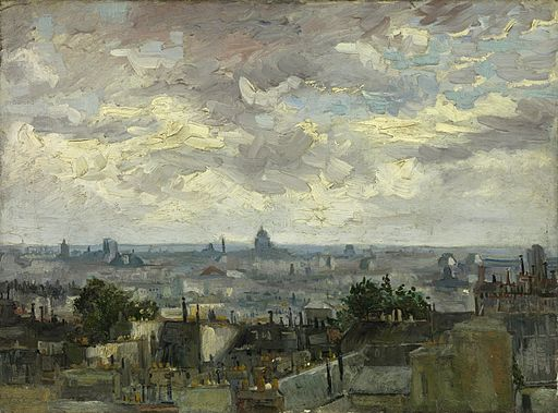 Vincent van Gogh - View of Paris - Google Art Project
