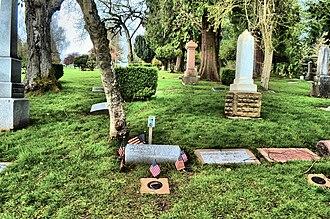 Virgil Earp - Virgil Earp -- Grave site in River View Cemetery, Portland, Oregon 03/2015 M.O.B.