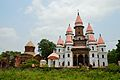 Vishnu Mandir and Hanseswari Mandir - East View - Bansberia Royal Estate - Hooghly - 2013-05-19 7475.JPG