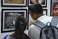 Visitors At Inaugural Day - 45th PAD Group Exhibition - Kolkata 2019-06-01 1574.JPG