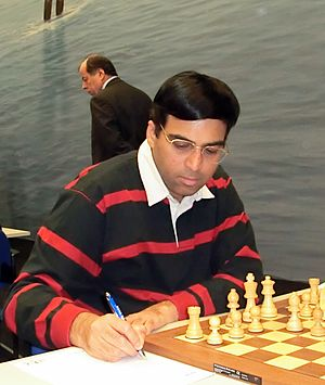 World Chess Championship 2014 - Image: Viswanathan Anand 13