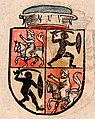 Vitaŭt Vialiki, Pahonia. Вітаўт Вялікі, Пагоня (1536) (2).jpg