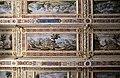 Viterbo, palazzo dei priori, sala regia o erculea, soffitto con vedute di castelli e torri soggetti a viterbo di tarquinio ligustri e ludovico nucci, 1592, 02.jpg