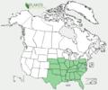 Vitis cineria range USDA.png