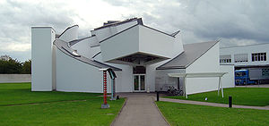 Vitra Design Museum - The Vitra Design Museum building by Frank O. Gehry, front view