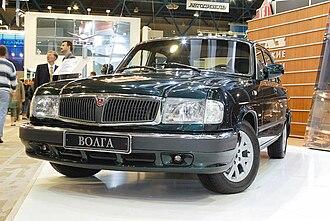GAZ-3110 - Image: Volga 3110 facelift