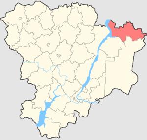 Staropoltavsky District - Image: Volgogradskaya oblast Staropoltavsky rayon