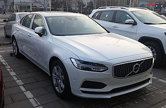Volvo Scalable Product Architecture platform - Image: Volvo S90 II 01 China 2017 03 19